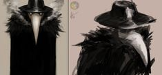 Plague Doctor sketches by Snook-8 on deviantART