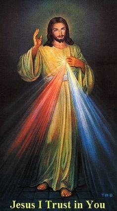 Divine Mercy Jesus, I trust in You.  YBH