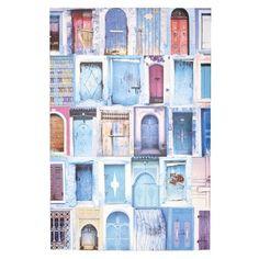 Ombre Home Summer Love Doors Canvas Blue 60 x 90 cm