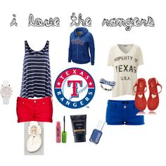 Texas Rangers!  www.mimirue.com.. I seriously think i have all of this already. sweeetttt