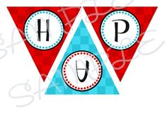 1950's Birthday Party Banner by creativelyexpressive on Etsy, $12.00