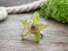 Rejtett tenger csillaga műgyanta gyűrű Brooch, Jewelry, Accessories, Jewlery, Jewerly, Brooches, Schmuck, Jewels, Jewelery