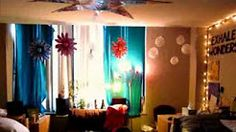 cool diy dorm room - YouTube