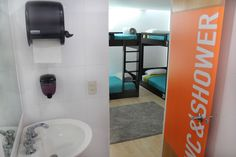Women in hostel room with 4 beds Coyoacan | Coyoacan Hostel, Mexico Hostel