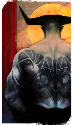 Aries - Dragon Age Zodiac cards - Iron Bull