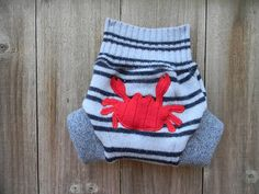 Upcycled Wool Soaker Cover Diaper Cover With Added by Myecobaby, $20.00