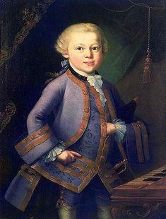 Pietro Antonio Lorenzoni (1721 – 1782, Italian) Wolfgang Amadeus Mozart