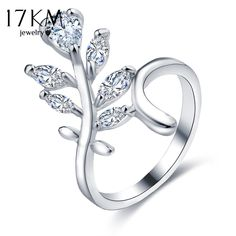 224d66da5e94 Fashion Gold Color Cubic Zircon Flower Wedding Engagement Rings For Women  Jewelry Female Crystal Ring Bijoux Love Gift