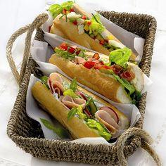 Picknickbroodjes #meenemen #lunch #WeightWatchers #WWrecept