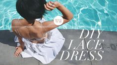 How to Make a Lace Beach Dress - YouTube