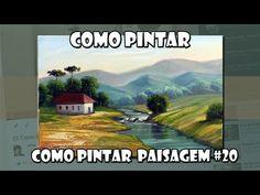 Como Pintar : Paisagem #20 ( Passo a Passo ) - YouTube