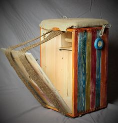 Backbag cajon Woodworking, Canning, Home Canning, Joinery, Wood Working, Woodwork, Carpentry, Conservation, Woodworking Projects