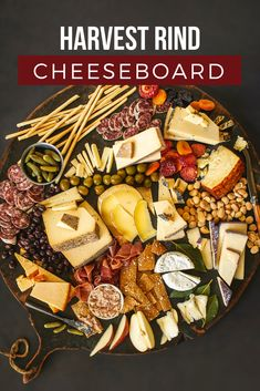 Celebrate autumn with this beautiful cheeseboard. The cheese rinds give splashes of fall colors, and a mix of fruits, meats, olives and nuts balance the bold cheese flavors. Thanksgiving Appetizers, Thanksgiving Desserts, Appetizers For Party, Thanksgiving Platter, Italian Thanksgiving, Thanksgiving Quotes, Thanksgiving Outfit, Thanksgiving Crafts, Thanksgiving Decorations