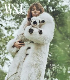 FLASHBACK: Freja Beha wears Louis Vuitton on the September 2015 cover of WSJ. Magazine