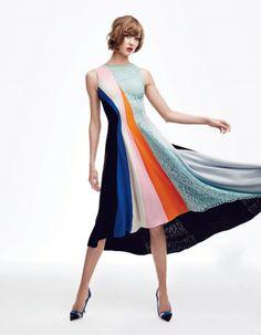 karlie kloss by patrick demarchelier4 Karlie Kloss Sports Dior for Patrick Demarchelier in Vogue Japan Shoot