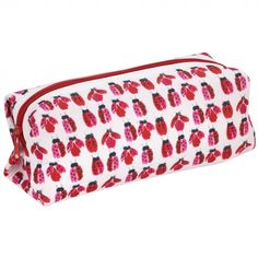 Ladybird square pencil case