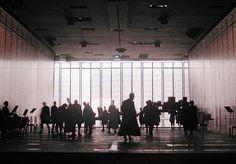 set design and light: Klaus Grünberg, Landschaft mit entfernten Verwandten (Heiner Goebbels), 2002