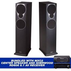 Mission MX4 Floor Stand Speakers (Black) BUNDLED with MXC2 Center Speaker and Sherwood RD606 5.1 Network AV Receiver #onlineshop #onlineshopping #lazadaphilippines #lazada #zaloraphilippines #zalora