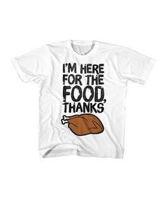 Another great find on #zulily! White 'I'm Here' Tee - Toddler & Kids #zulilyfinds