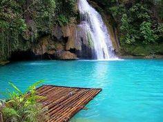 Kawasan Falls Cebu Phillipines