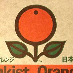 Sunkist Orange box via Draplin Design Co.