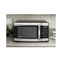 Visit The Home Depot to buy Danby Designer cu. Countertop Microwave in Stainless Steel Tiny House Appliances, Kitchen Appliances, Countertop Microwave Oven, Best Refrigerator, Timer Clock, Oven Range, Kitchen Items, Cool Kitchens