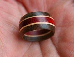 Tutoriales de anillos de madera