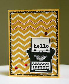 Hello using Artful Delight June Kit