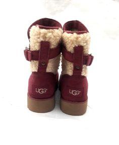 5fc76e99fe7 UGG K Jayla Sheepskin Boots Wedge Youth Kids Size 13  fashion  clothing   shoes