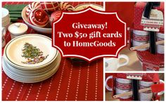 Head on over to the Bright Bold Beautiful blog for a chance at two $50 HomeGoods gift cards. Good luck!