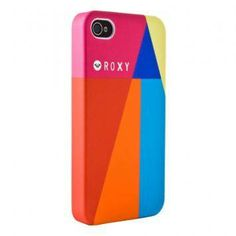 This phone case uses a combination of two separate triadic color schemes, creating a unique, vibrant image. The lines and corresponding colors create sharp, clean-edged shapes, which contrasts with the rounded camera opening. The proximity of the logo is excellent because the lines lead the eye right to it, but the logo itself is not overpowering.