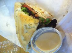 Sandwich from espresso's I see you Sag Harbor