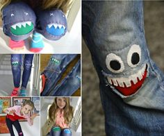 Monster Knee Patches
