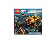 The Lego City Deep Sea Submarine - a great selection of Lego construction sets at Wonderland Models.