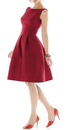 Red dress age 7 8