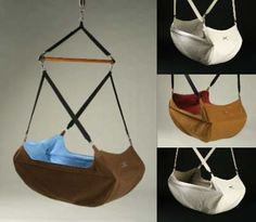 Hanging Baby Bassinet - Kanoe model