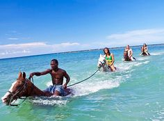 Island Routes thrilling outdoor adventure tours will reveal the grandeur of the Caribbean. Experience thrilling Caribbean island excursions for yourself! Negril Jamaica, Jamaica Vacation, Jamaica Travel, Beach Horseback Riding, Top Honeymoon Destinations, Adventure Tours, Travel Tours, Swim, Cayman Islands