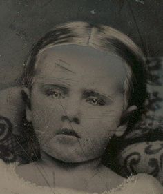 victorian post mortem photography......EYES WERE PROBABLY PAINTED IN..............