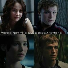 You're not and will become so much more in mockingjay! You are amazing katniss and peeta!<3