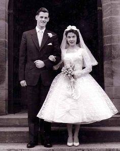 Vintage Brides — 1960's newlyweds Maureen and George