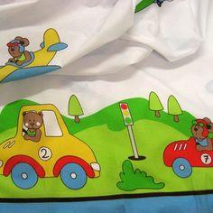 Llençol infantil // Sábana infantil // Children bed sheet #tela #teixit #tejido #fabric #infantil #children #llençol #sábana #bedsheet #teixitsbaig