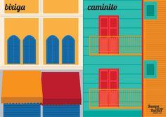 Sampa versus Buenos Aires es un proyecto de la ilustradora Vivian Mota que retrata las diferencias entre las dos mayores ciudades de Sur America. Ella pone lado a lado ilustraciones de objetos, personas y lugares cotidianos de ambas locaciones, resultando en imágenes maravillosas.