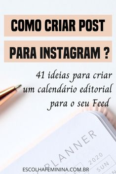 como-criar-post-para-instagram Instagram Feed, Digital Marketing, Business, Inspiration, Instagram Challenge, Instagram Tips, Motivational Videos, Quotes Motivation, Social Networks