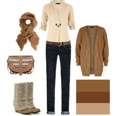 Laying for November, created by #daniellej1116 on #polyvore. #fashion #style Dorothy Perkins Hollister Co.