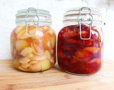 Kompott selbstgemacht: Pfirsich-Vanille, Zwetschken-Rum…