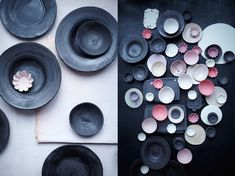 black stoneware collection
