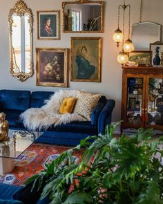 7 Design Trends That Have Defined The Last Decade (And Are Going to Stay) by DLB - living room decor ideas, wall gallery, eclectic living room, modern living room, interior decor tre - Apartment Therapy, First Apartment Decorating, Interior Decorating, Home Design, 1970s House, Dining Room Inspiration, Victorian Decor, Design Furniture, Vintage Furniture