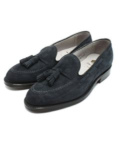 4b5be4ad7db International Gallery BEAMS   ALDEN × International Gallery BEAMS    CALFSUEDE TASSEL LOAFER