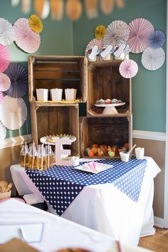 Chef + Cooking themed birthday party with Lots of Cute Ideas via Kara's Party Ideas