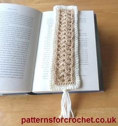 Bookmark free crochet pattern from http://www.patternsforcrochet.co.uk/bookmark-usa.html #freecrochetpatterns #patternsforcrochet